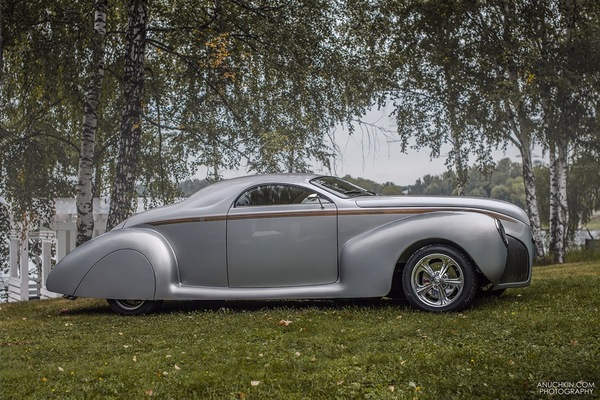 1938 Lincoln Zephyr custom авто, ретро, ретроавтомобиль, Lincoln, custom