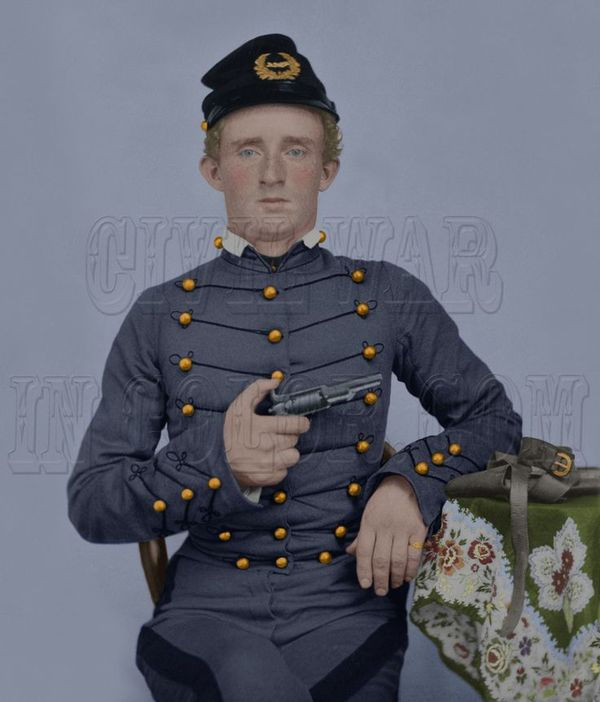 United states army officer and cavalry commander in the american civil war and the american indian wars