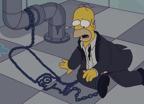 The Simpsons Saw