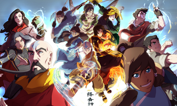 Avatar The Last Airbender Characters As Adults
