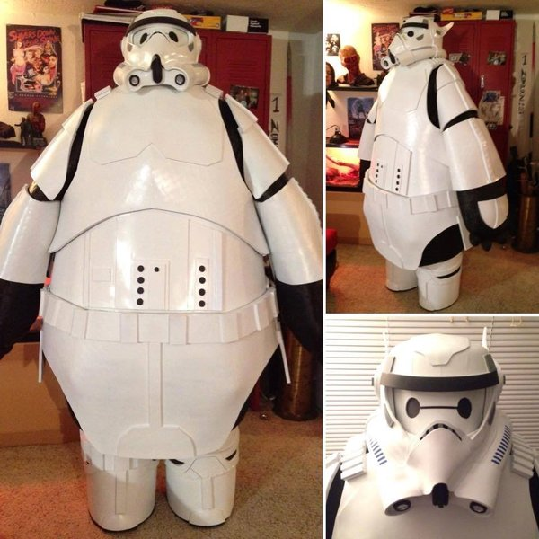The Baymax Stormtrooper