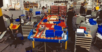 Ford Mustang 1964 года из LEGO