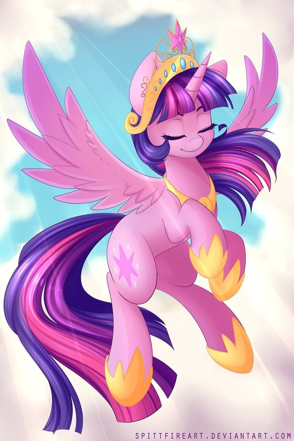 Rise my little pony, Twilight Sparkle, рисунок