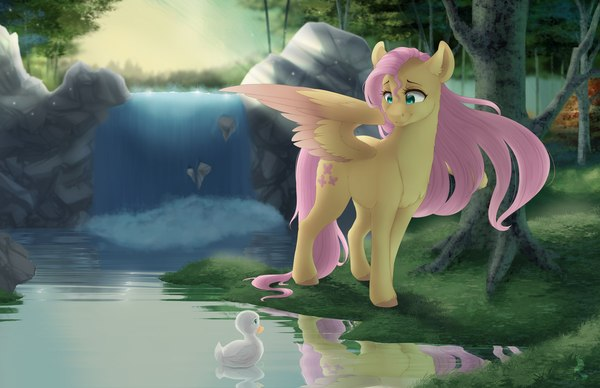 Wonders of Nature my little pony, Fluttershy