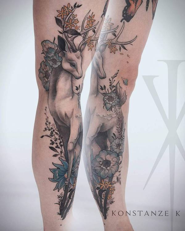 Tattoo Artist - Konstanze K tattoo, тату, tattooink, ink, tattooartist, длиннопост