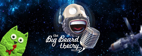На Луну с Зеленым котом. Подкаст The Big Beard Theory наука, космос, подкаст, познавательно, Луна, космонавтика, спутник