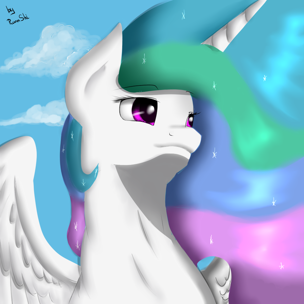 Celestia my little pony, Princess Celestia, RuanShi