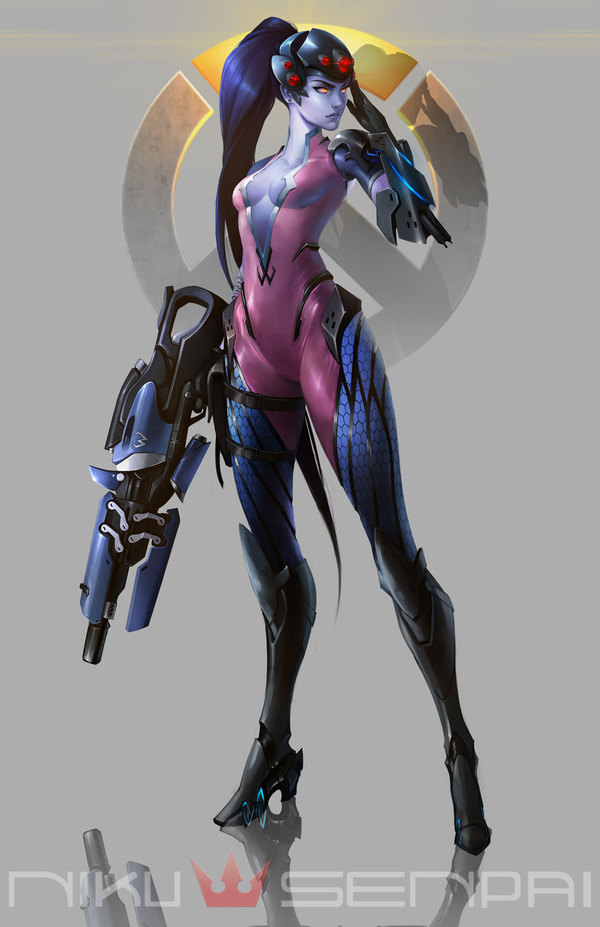 Widowmaker the Talon Overwatch, Widowmaker, Роковая вдова, Арт, Talon