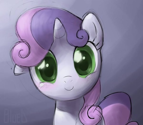Sweetie Belle my little pony, ponyart, Sweetie Belle