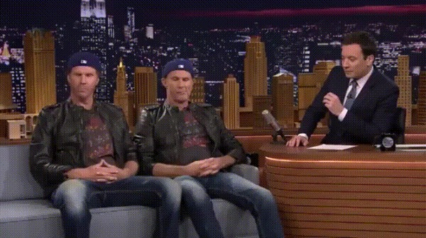 Актерское мастерство Red Hot Chilly Peppers, will ferrell, Chad Smith, гифка