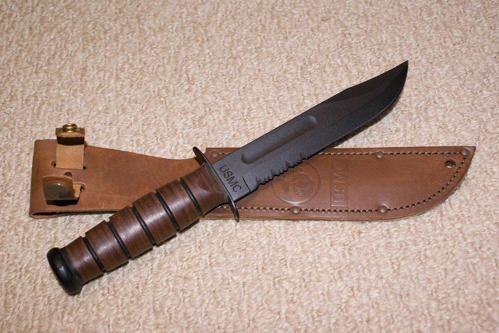 Купить боевой нож ka-bar нож финка 5