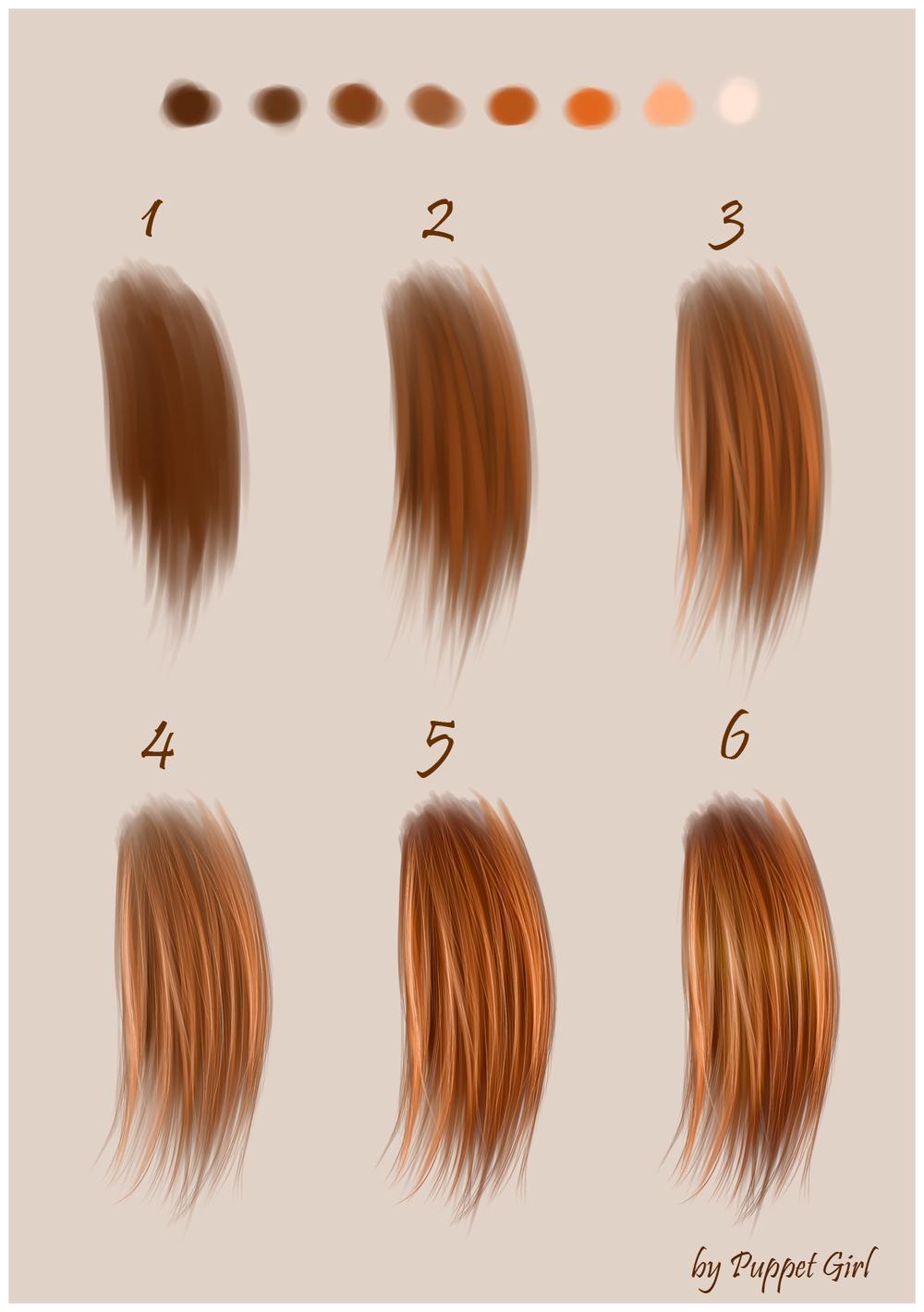 вживление волос в глину