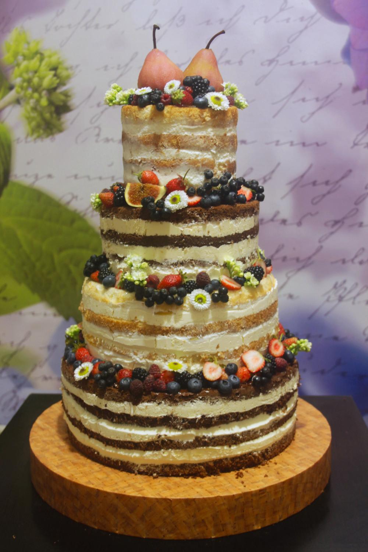 Двухэтажный торт своими руками