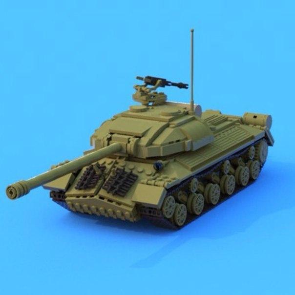 Строим из, lEGO, duplo: танки и другие