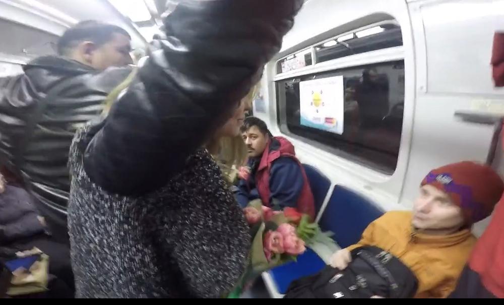 Меня трогали под юбкой в транспорте