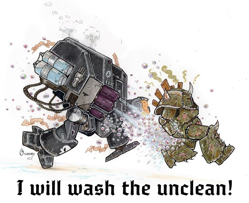 I will wash the unclean