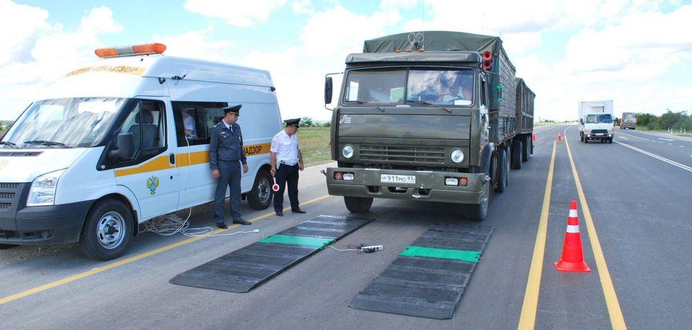 Запрет на эвакуацию перегруженных грузовиков