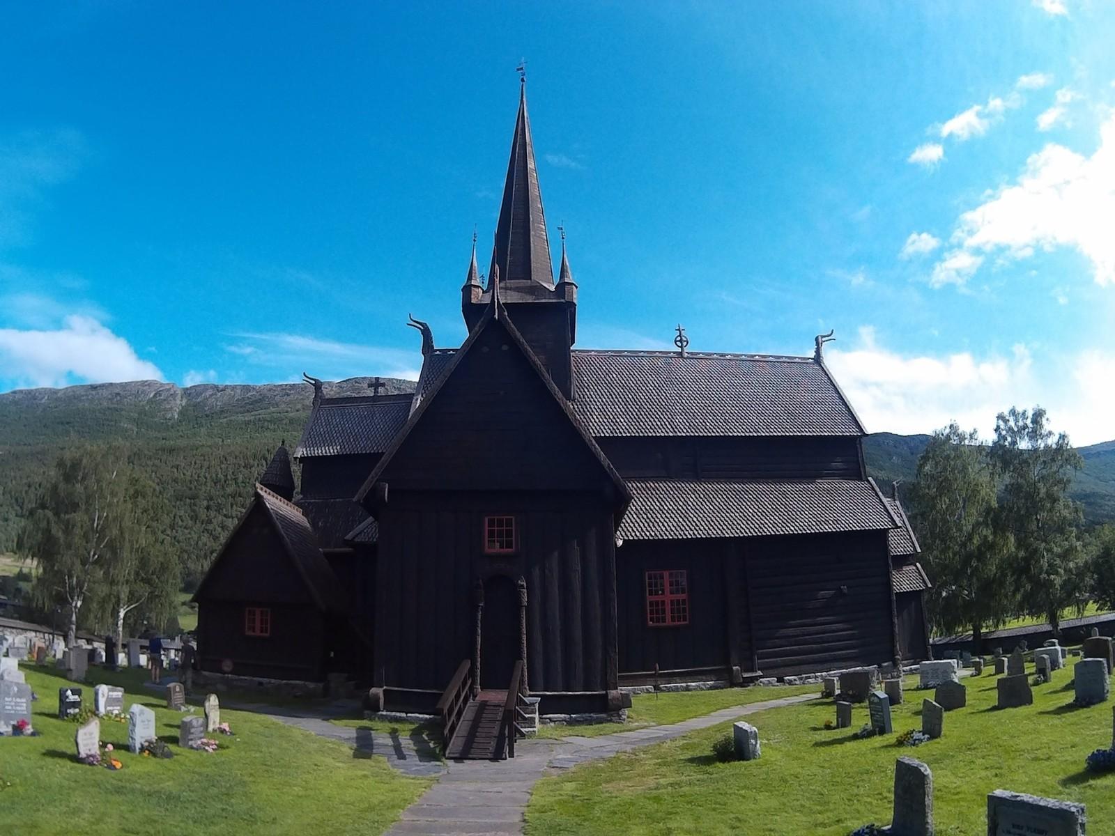 Обои Норвегия, деревянная, церковь. Разное foto 12
