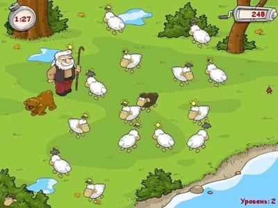 Волк трахает овец