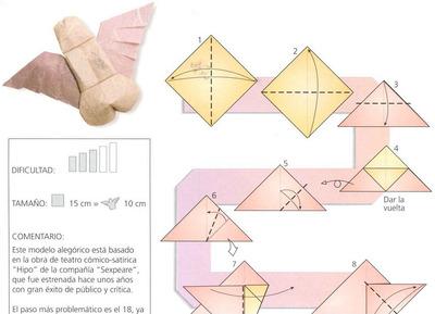 Член из оригами