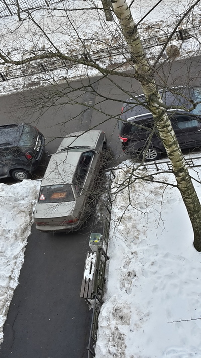 Легендарный мастер парковки