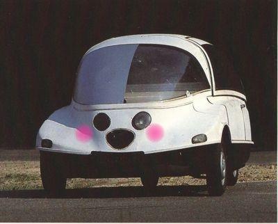 Интересные авто 1950-х гг.