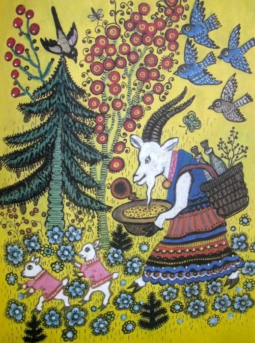 Иллюстрации к сказкам) Иллюстрации, Сказка, СССР, Длиннопост