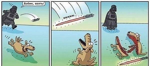 Ещё одна причина почему быть Дартом Вейдером тяжело star wars, возможно было, дарт вейдер, Собака