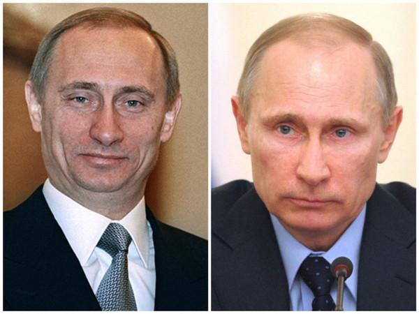 Путин - фото от 2000 до 2016