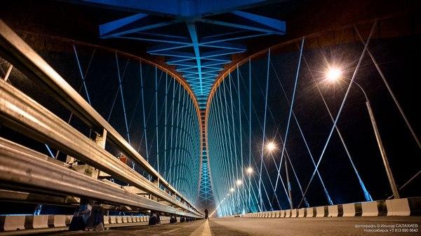 Бугринский мост Мост бугринский, Новосибирск, Ракурс, Фото, Видео, Длиннопост