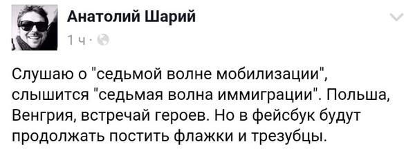 Очередная мобилизация на Украине. Украина, Шарий, Политика, Мобилизация, Facebook