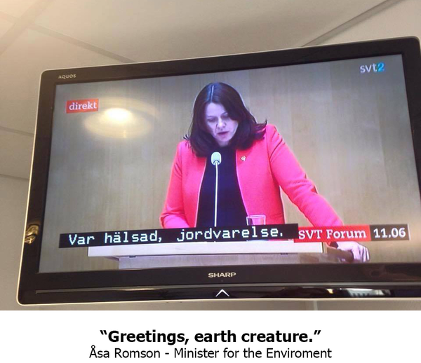 Шведское телевидение случайно включило субтитры детского канала на политических дебатах SwedishTV, политика на всякий случай, длиннопост, политика