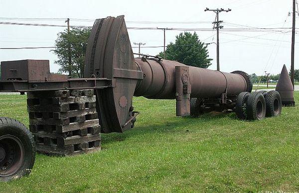 Самое крупнокалиберное орудие в мире. Оружие, Война, Изобретения, Гигантизм, История, Длиннопост