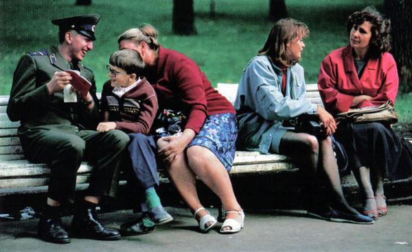 Фотографии Москвы 90х годов