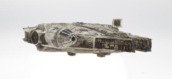 """Фанат перекрасил дешевый игрушечный """"Тысячелетний Сокол"""" Star wars, Тысячелетний сокол, Поделки, Не мое, Reddit, Длиннопост"""
