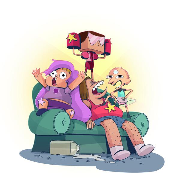 Два забавных мультсериала в одном