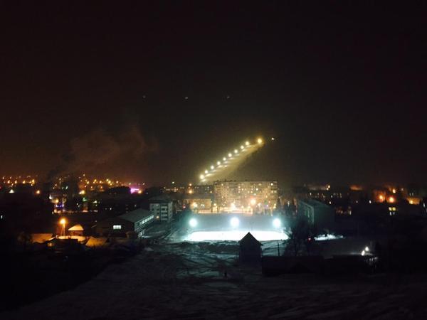 Просто трасса для горнолыжников и сноубордистов. Горно-Алтайск. Горно-Алтайск, сноуборд, горные лыжи, зима, горы