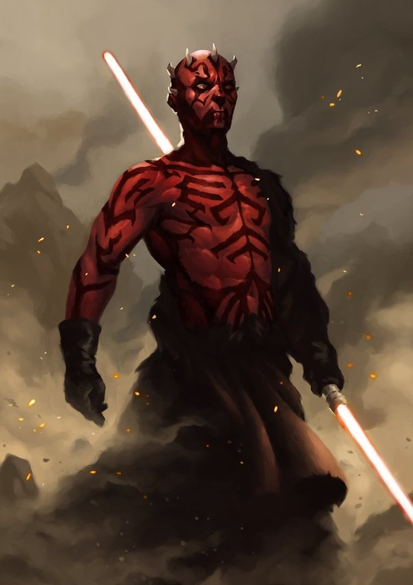 Star Wars The Clone Wars Return of Darth Maul Executive Producer George Lucas and LucasFilm Animation present Star Wars The Clone Wars Darth Maul Returns