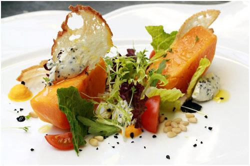 салат из печеной тыквы рецепты
