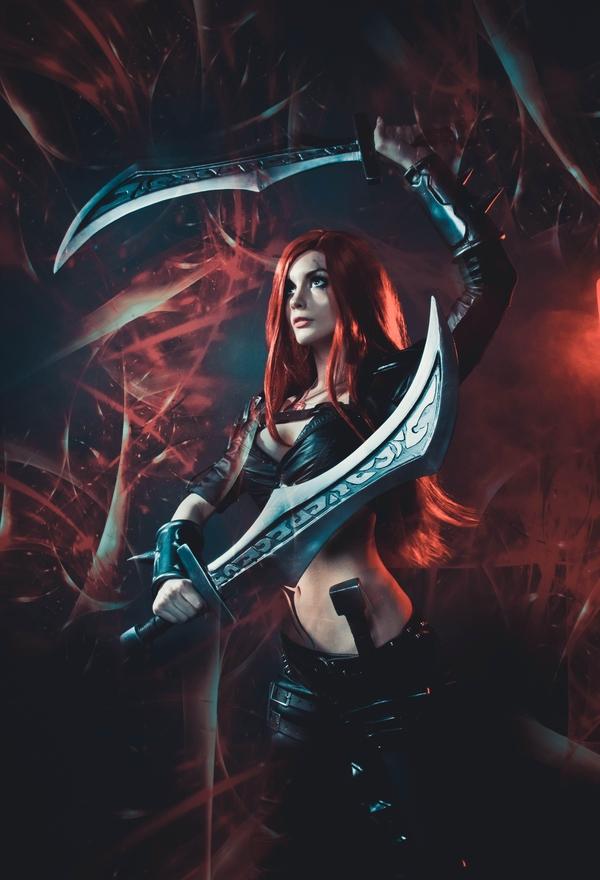 Катарина Катарина, League of Legends, Косплей, Длиннопост