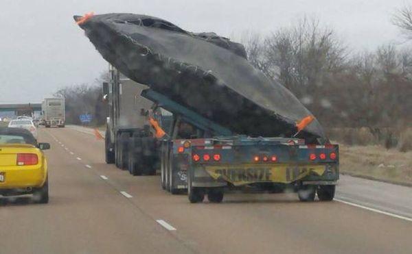 Сверхсекретная транспортировка НЛО