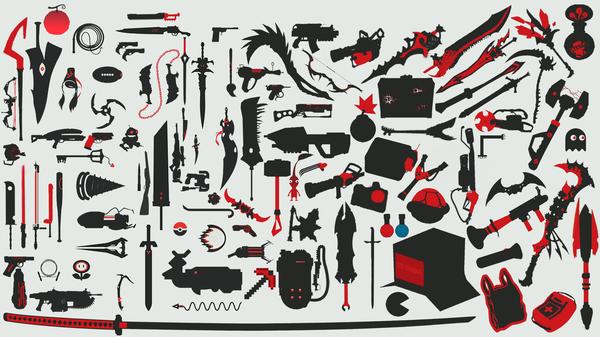 Оружие из игр и аниме