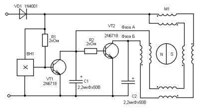 Помогите восстановить кулер(вентилятор) 12В 0,3А медленно вращается..