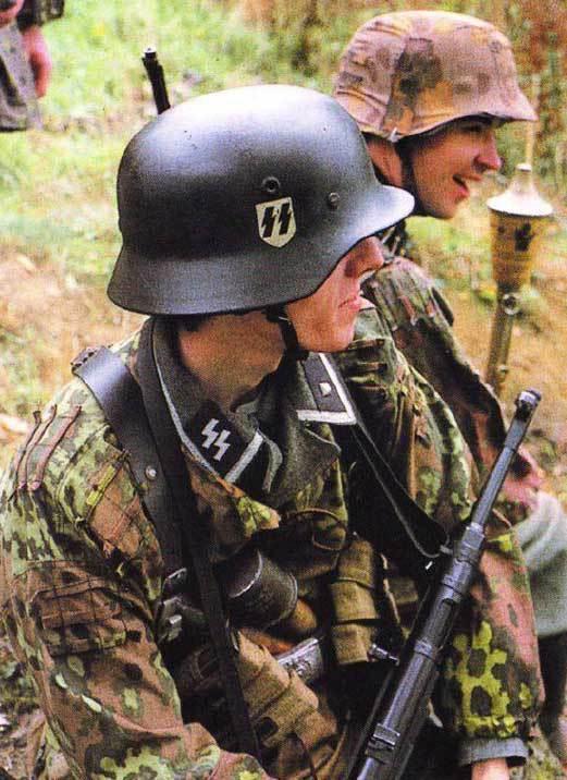 фото солдат войск сс