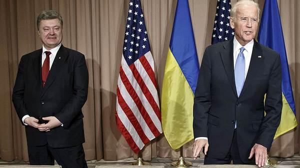 Порошенко и Байден обсудили реформы в/на Украине Украина, США, Давосский форум, Политика