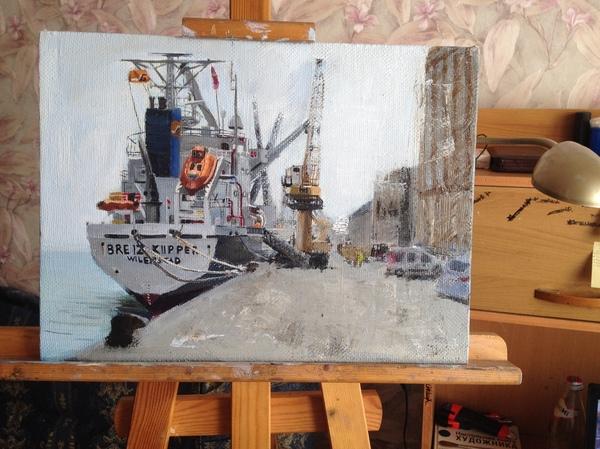Моя картина, мой пароход, тег моё)