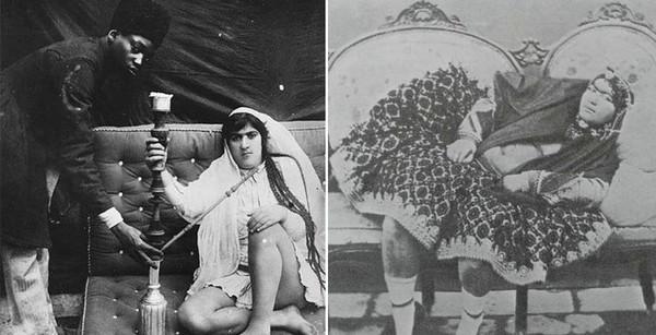 Гарем шаха Ирана Насер ад-Дин Шах Каджар. гарем, красотки, женщина, девушки, сексуальная, длиннопост