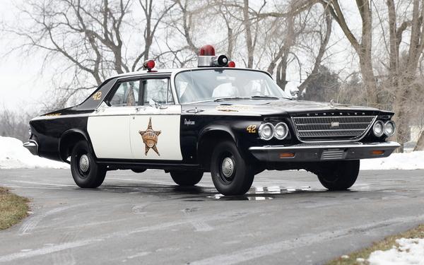 Chrysler Newport Police Cruiser '1963