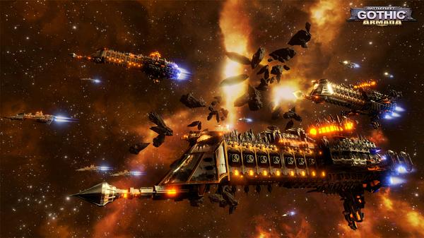 Battlefleet Gothic: Armada steam, Warhammer 40k, Игры