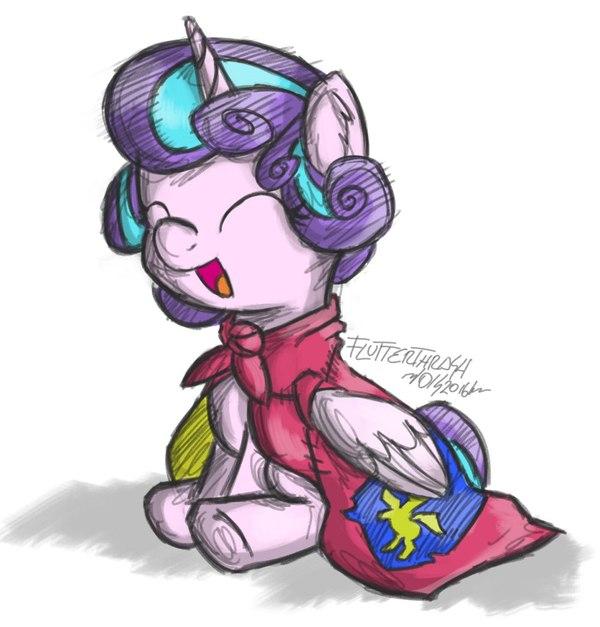 Flurry Heart My little pony, Flurry Heart, Арт, MLP Season 6